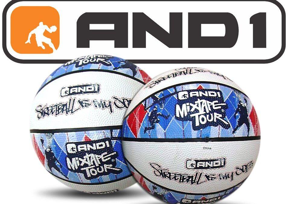 AND1 MixTape Basketball Design