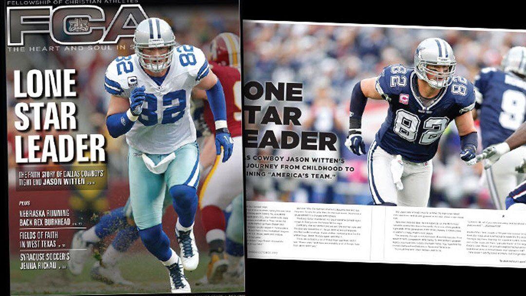 FCA Magazine - Jason Witten (Dallas Cowboys)