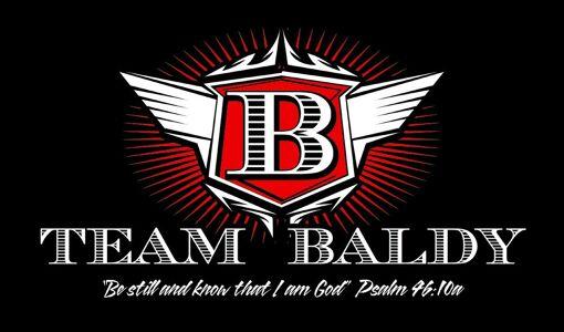 Team Baldy Logo Design