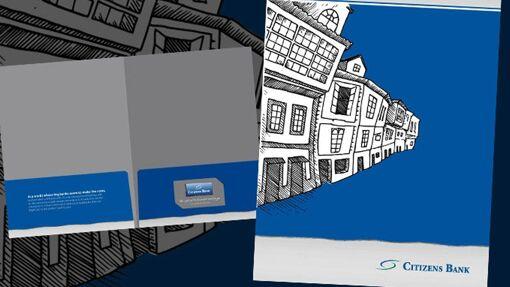 Citizen's Bank Pocket Folder