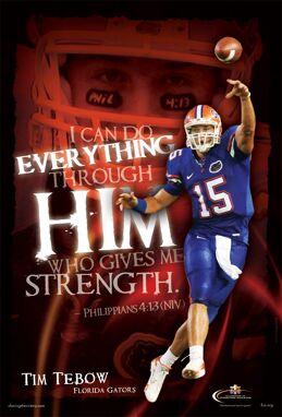 Tim Tebow – Florida Gators
