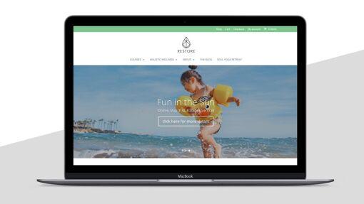 Restore Tribe website